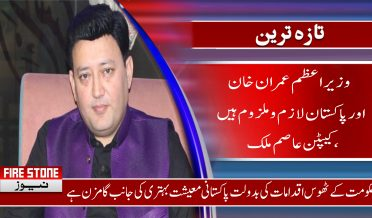 وزیراعظم عمران خان اور پاکستان لازم و ملزوم ہیں، کیپٹن عاصم ملک