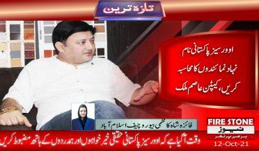 اوورسیز پاکستانی نام نہاد نمائندوں کا محاسبہ کریں، کیپٹن عاصم ملک
